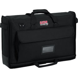 """Gator Cases Small Padded Nylon Carry Tote Bag for LCD Screens Between 19-24"""""""
