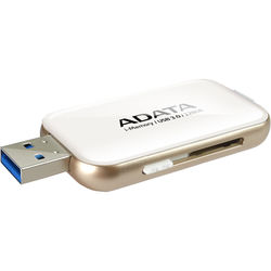 ADATA Technology UE710 i-Memory Flash Drive for Select iPhone, iPad, and iPod Devices (128GB, White)