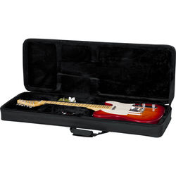 Gator Cases Rigid EPS Foam Lightweight Case for Electric Guitars