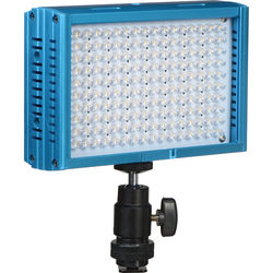 Dracast LED160 3200-5600K Variable Color On-Camera Light (Aluminum, Blue)