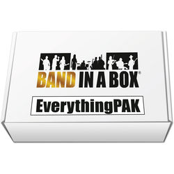 eMedia Music PG Music Band-in-a-Box 2016 EverythingPAK - Backing Band / Accompaniment Software (Mac, Download)