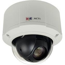 ACTi B914 3MP Day/Night 3MP Outdoor Mini PTZ Camera with 4.7-47mm Varifocal Lens