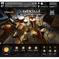 Indigisounds Laventille Rhythm Section Sample Library - Virtual Instrument (Download)
