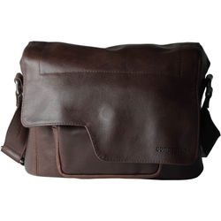 "compagnon ""the little messenger"" Camera Bag (Dark Brown, Leather)"
