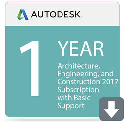 Autodesk Architecture, Engineering, and Construction Collection 2017 with Basic Support (1-Year Subscription, Download)
