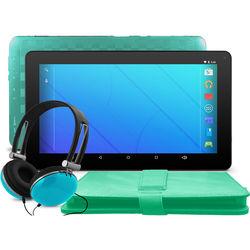 """Ematic 10"""" EGQ223SK Tablet (Teal)"""