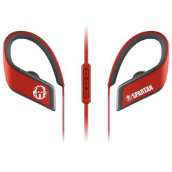 Panasonic Wings Wireless Bluetooth Sport Clip Earbuds with Mic & Controller Limited Edition Spartan (Red)