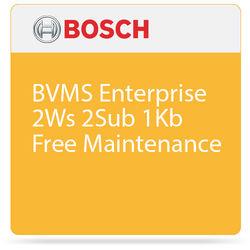 Bosch BVMS Enterprise System License with Free Maintenance