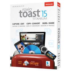 Roxio Toast 15 Titanium for Mac (Boxed)