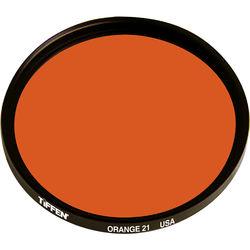 Tiffen 86C  (Coarse) Orange #21 Glass Filter for Black & White Film