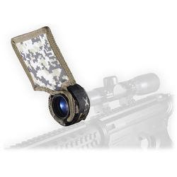 Flex Sun Shade Universal Riflescope Sun Shade (Desert Camo)
