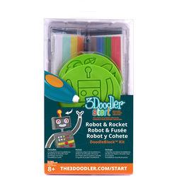 3Doodler Start DoodleBlock Kit (Rocket / Robot Set)