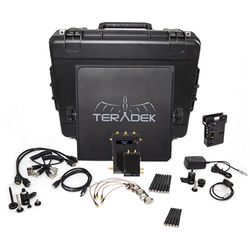 Teradek Bolt 1000 SDI/HDMI Wireless Transmitter & Receiver Deluxe Kit (Gold Mount)