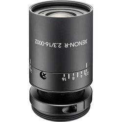 """Schneider Xenon-Ruby f/2.3 / 16mm C-Mount Lens for 1/1.8"""" Sensors"""