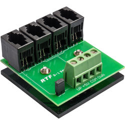 Draper 4-Jack Modular Interface for ILT Switch and Motor Control