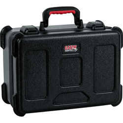 Gator Cases GTSA-MIC15 ATA-Molded Polyethylene Case with Foam Drops for up to 15 Wired Microphones