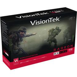 VisionTek Radeon RX 480 8GB GDDR5 Rear Blower 4M 3XDP HDMI Graphics Card