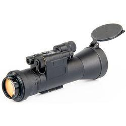 Bering Optics D-950 Elite 1x 3rd-Gen Night Vision Riflescope Clip-On (Filmless, White Phosphor Tube, Matte Black)