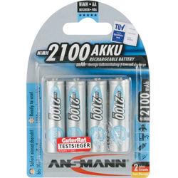 Ansmann maxE Mignon AA 2100mAh Rechargeable NiMH Battery (4-Pack)