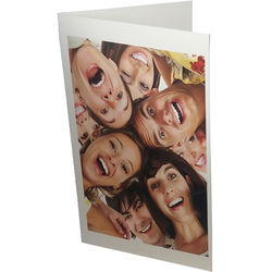 """Premier Imaging PremierArt Smooth 205 Natural White Cotton Scored Greeting Cards (10 x 7"""", 20 Cards)"""