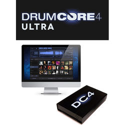 Sonoma Wire Works DrumCore 4 Ultra - Virtual Instrument Plug-In (USB SSD Hard Drive)