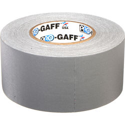 """ProTapes Pro Gaffer Tape (3"""" x 55 yd, Gray)"""