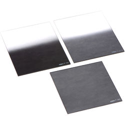 Cokin P Series Solid and Hard-Edge Graduated Neutral Density Filter Kit with P Series Filter Holder and Adapter Rings