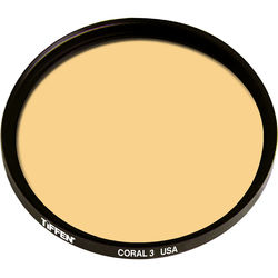 Tiffen Series 9 3 Coral Solid Color Filter