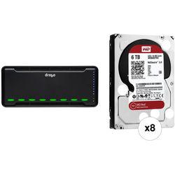 Drobo B810n 48TB 8-Bay NAS Enclosure Kit with Drives (8 x 6TB)