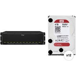 Drobo B1200i 48TB 12-Bay NAS Storage Array Kit with Drives (12 x 4TB)