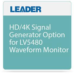 Leader HD/4K Signal Generator Option for LV5480 Waveform Monitor