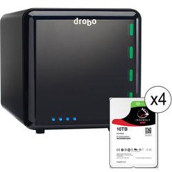 Drobo 40TB 4-Bay USB 3.0 Storage Array Kit (4 x 10TB, 3rd Generation)
