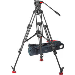 Sachtler FSB 10 ENG 2 MCF-100 mm Carbon Fibre Tripod System with Touch & Go Cam