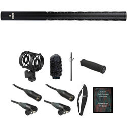 Rode Rode NTG3 Basic Shotgun Mic Kit (Black)