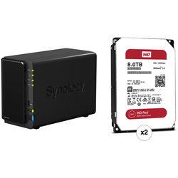 Synology DiskStation 16TB DS216+II 2-Bay NAS Server Kit (2 x 8TB)