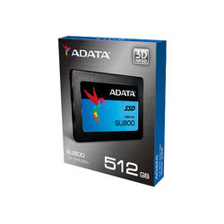 "ADATA Technology 512GB Ultimate SU800 SATA III 2.5"" Internal SSD"