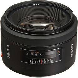 Sony 50mm f/1.4 Alpha A-Mount Standard Prime Lens