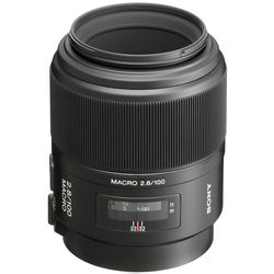 Sony 100mm f/2.8 Alpha A-Mount Macro Lens
