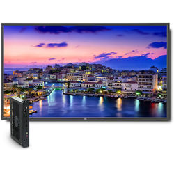 "NEC 80"" Digital Signage Solution with V801 Display and OPS-PCAF-WS Single-Board Computer"
