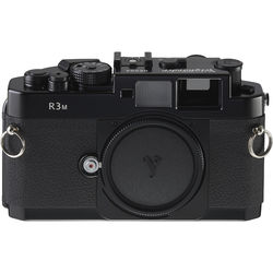 Voigtlander Bessa-R3M (1:1 Viewfinder) 35mm Rangefinder Manual Focus Camera Body - Black