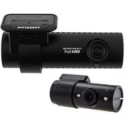 Black Vue DR650S-IR Series 2-Channel Dash Camera with Night Vision