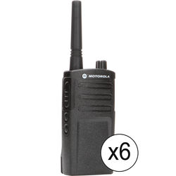 Motorola 6 x UHF 2-W 2 Channel-2-Way Radio Kit