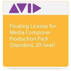 Avid Technologies Floating License for Media Composer   Production Pack (Standard, 20-Seat)
