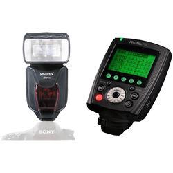 Phottix Mitros+ TTL Transceiver Flash with Odin II TTL Flash Trigger Kit for Sony Cameras