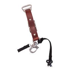 HoldFast Gear Adjustable Portrait Slider for MoneyMaker Harness (Bridle Leather, Chestnut)