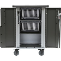 Bretford EVER Cart with MiX Module System for Up to 30 Devices (AC)