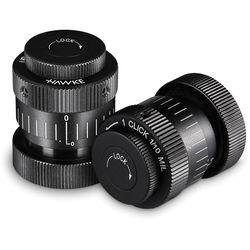 Hawke Sport Optics Interchangeable Turrets for Sidewinder ED Riflescope (1/10 MRAD Per Click, 2-Pack)