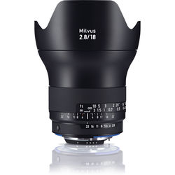 ZEISS Milvus 18mm f/2.8 ZF.2 Lens for Nikon F