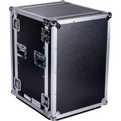 "DeeJay LED  16 RU Amplifier Deluxe Case with Wheels (18"" Deep)"