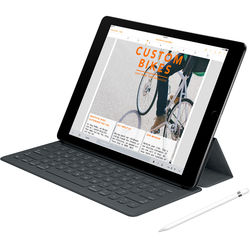 """Apple 9.7"""" iPad Pro with Apple Smart Keyboard and Apple Pencil Kit (128GB, Wi-Fi Only, Space Gray)"""